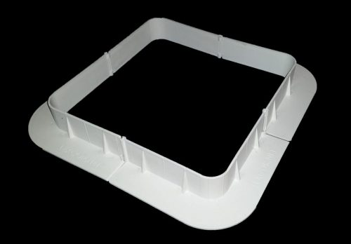 Lexcor Roofcurb II Form for Irregular Roof Penetrations - White