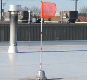 Flag-it Roof Top Monitoring System - Blank Flag
