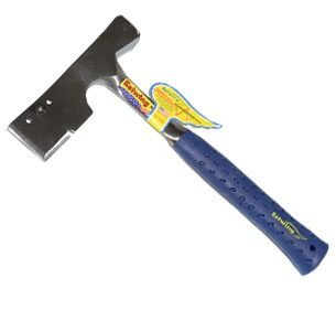Estwing Solid Steel Shingler's Hatchet; Shock reduction hatchet