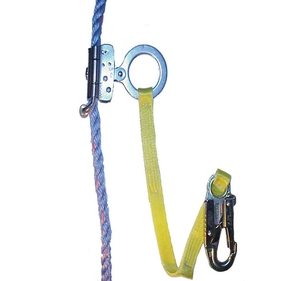 Miller Rope Grab with Lanyard 2 feet; Fall Protection