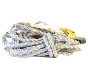 Miller 300L Vertical Rope Lifeline – 50 feet with Snap Hook and Loop