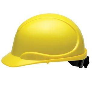 Casque de sécurité jaune CSA type 2