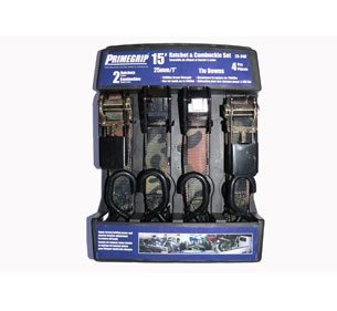 Primegrip Ratchet & Cambuckle Set - 1 inch by 15 feet