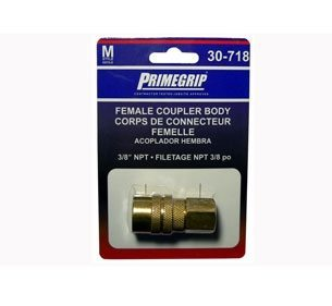 Primegrip 3/8 inch Female Coupler Body