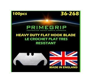 Primegrip Blunt Hook Blades – 2 Notch, 100 per pack
