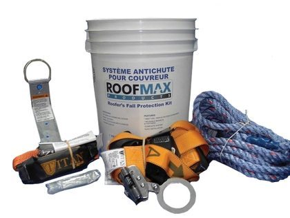 Roofmax Roofer's Fall Protection Kit - 25 feet