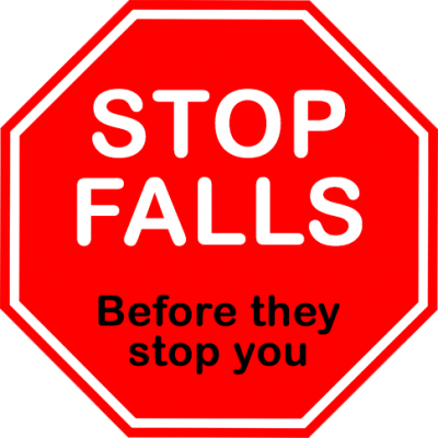 Stop falls before they stop you
